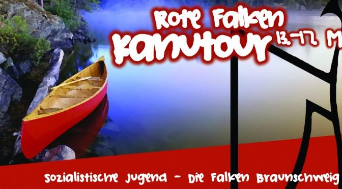 Melde dich jetzt an zur Rote Falken- Kanutour 2015!